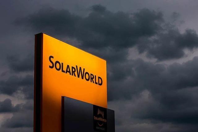Billig-Konkurrenz aus China: Solarworld ist wieder pleite