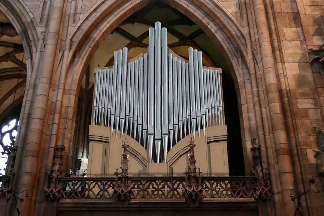 So wird die neue Chororgel aussehen.   | Foto: Fotomontage: Orgelbau Kuhn