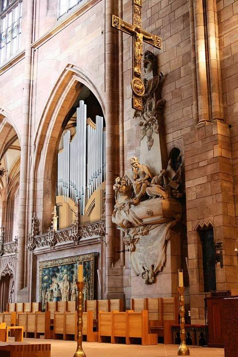 Die neue Chororgel   | Foto: Fotomontage: Orgelbau Kuhn