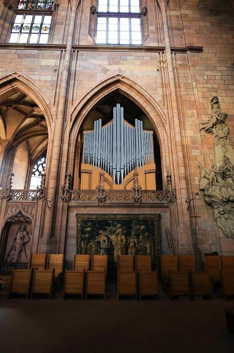 Sie wird von der Schweizer Werkstatt Kuhn angefertigt.   | Foto: Fotomontage: Orgelbau Kuhn