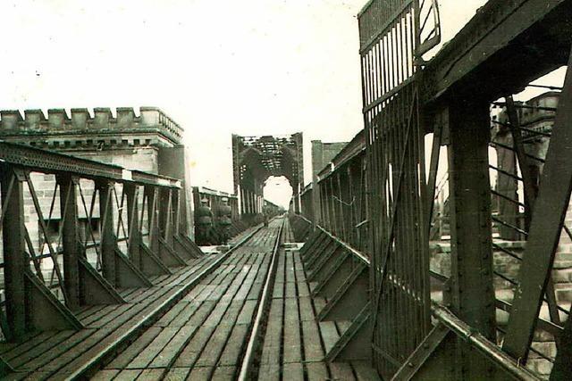 Breisachs Bürgermeister Rein: Die Eisenbahnbrücke wird kommen