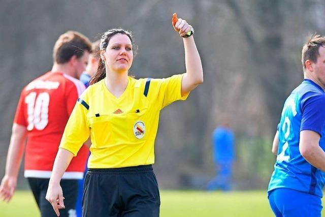 Schiedsrichterin Sarina Schüle: Nach ihrer Pfeife tanzt die Kreisliga
