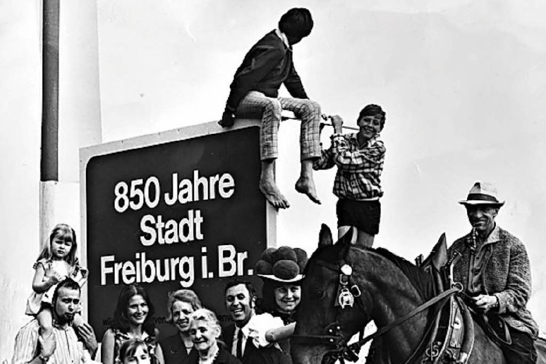 850-Jahrfeier Freiburg  | Foto: W. Prager