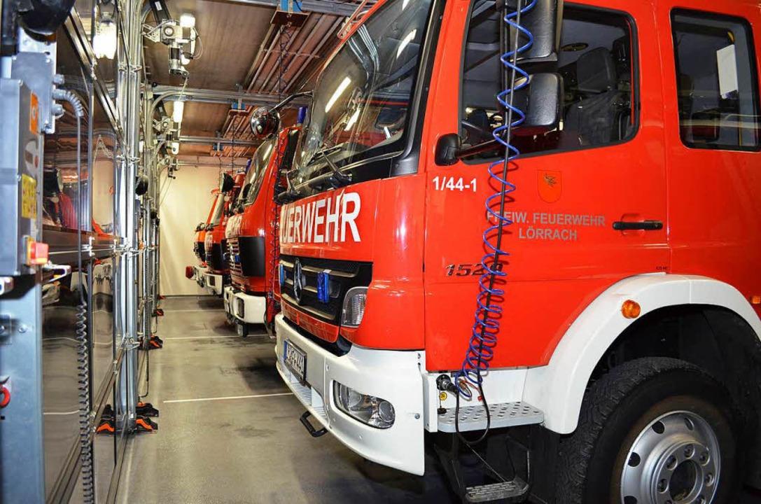 Bei der Feuerwehr Lörrach brodelt es (Symbolbild).  | Foto: Nikolaus Trenz