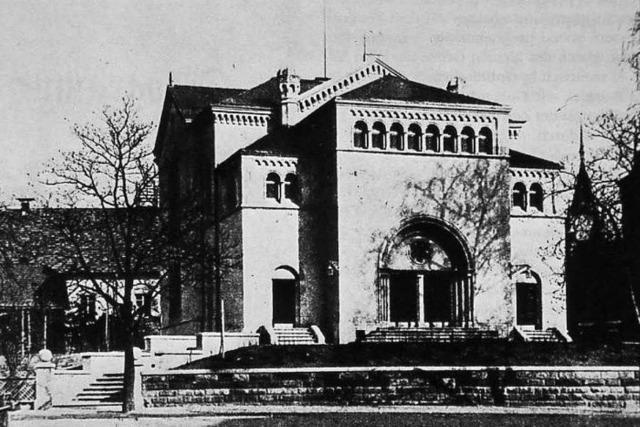 Wie wurde das Synagogengelände 1939 erworben?