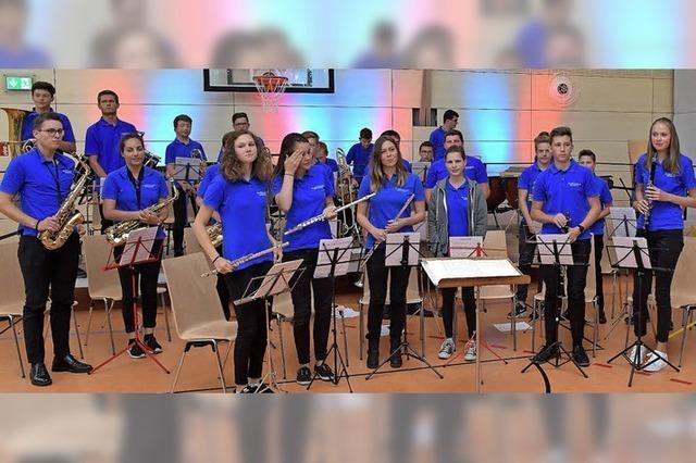 Stadtmusik und Bläserjugend in Bonndorf