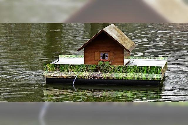 Der See wird umwälzt