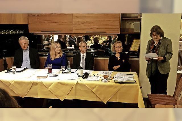 Generalversammlung bestätigt Vorstandsteam der CDU Heitersheim