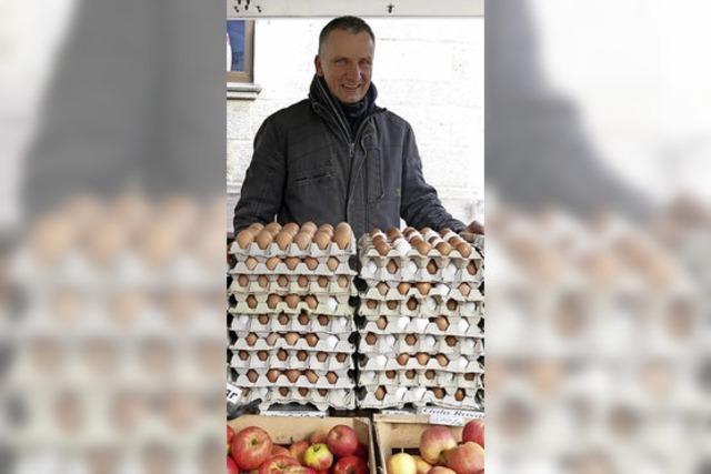 Hochsaison für die Eierproduzenten