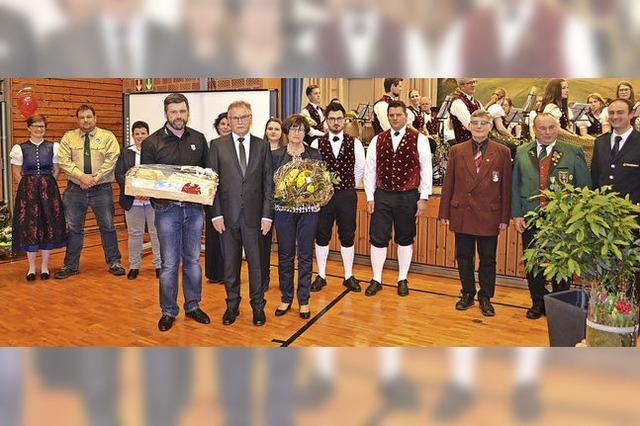 Josef Ruf ist nun Ehrenbürger