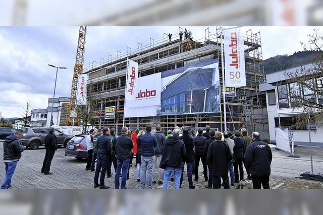 Julabo-Neubau nimmt Form an