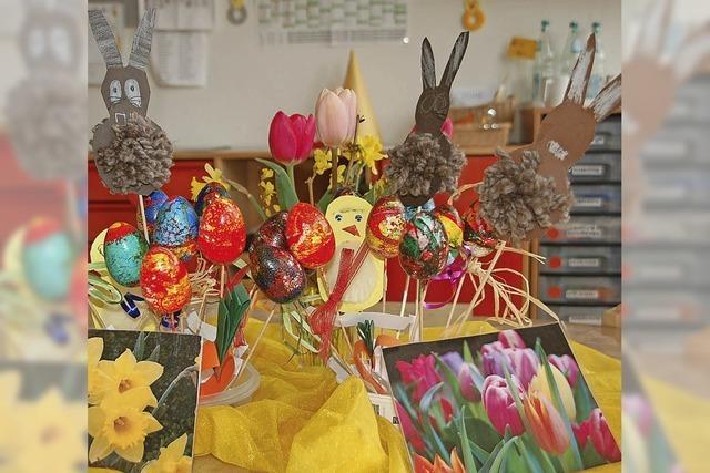 Kein Ostern ohne Ei, Hase und Kreuz