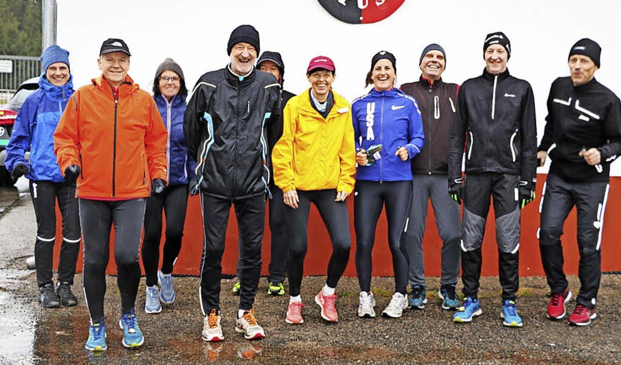 Ein guter Sportler kennt kein schlecht...st beim Freiburg Marathon ihre Kräfte.  | Foto: Martha Weishaar