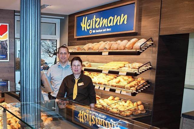 Bäckerei Heitzmann eröffnet Filiale in Kenzingen