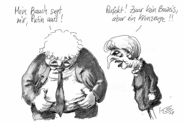 Großbritanniens Außenminister Boris Johnson und der Fall Skripal