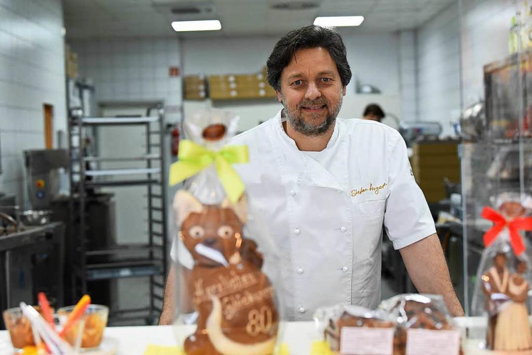 Stefan Herget in der Küche  | Foto: Jonas Hirt