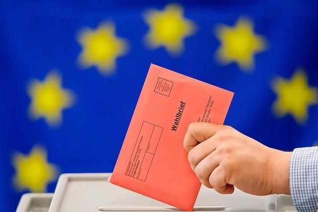 Männer besetzen die sicheren Plätze für die Europawahl