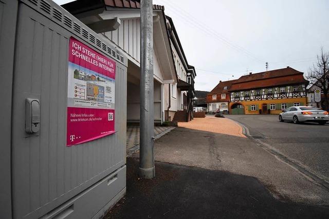 In Herbolzheim-Broggingen stockt der Breitbandausbau