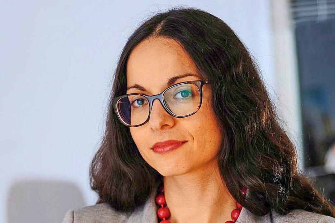 Marina Chernivsky vom Kompetenzzentrum der Zentralwohlfahrtsstelle der Juden.  | Foto: Pierre Kamin / ZWS