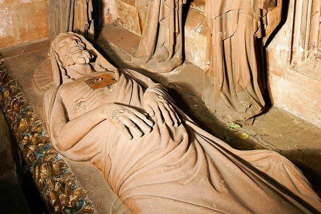 Das Heilige Grab im Freiburger Münster erwacht aus seinem Schattendasein