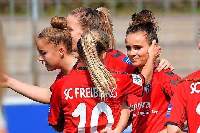 SC-Frauen besiegen Werder Bremen mit 3:0