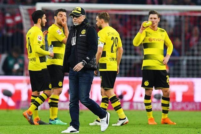 Borussia Dortmund kassiert eine Klatsche beim FC Bayern