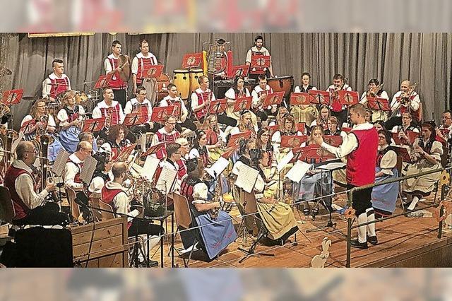 Trachtenkapelle lädt zur musikalischen Zeitreise ein