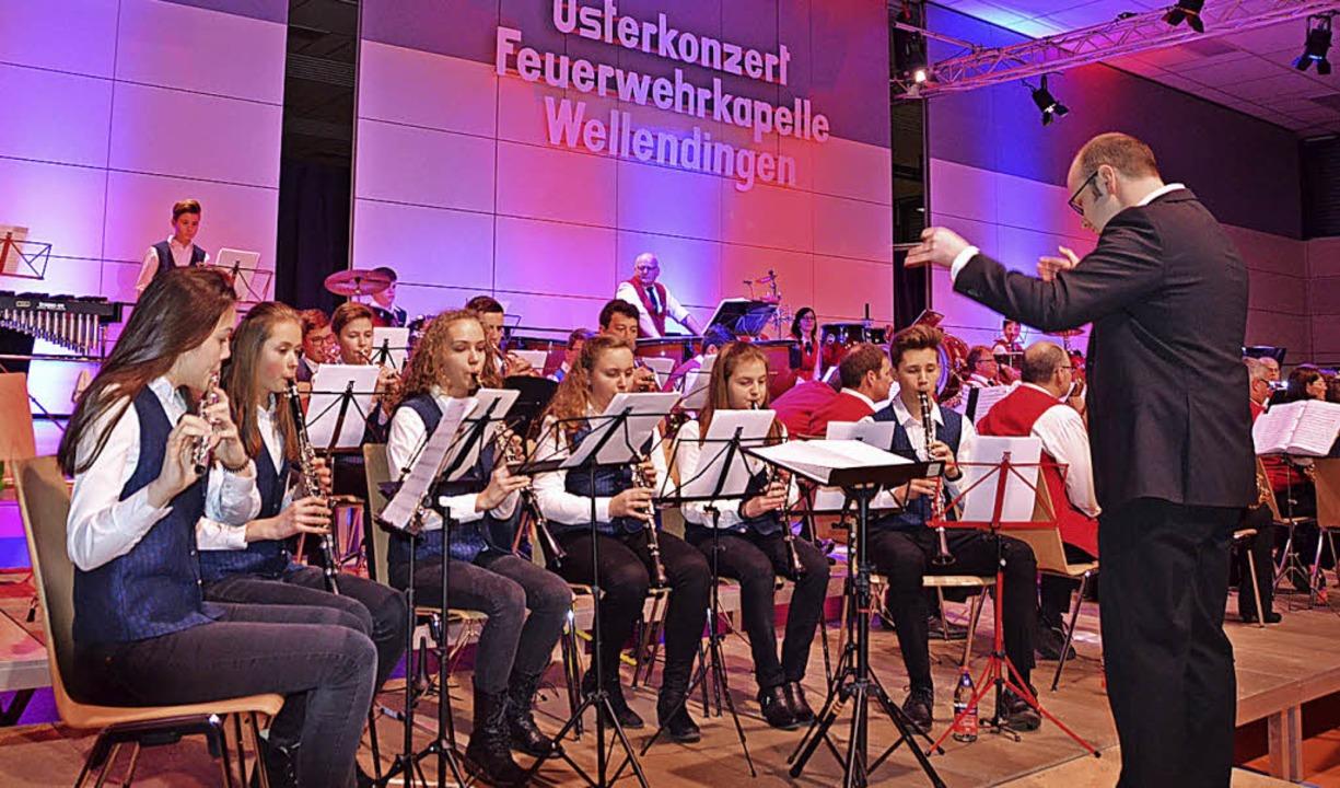 Die Bläserjugend der Bonndorfer Musikv...Der musikalische Nachwuchs überzeugte.  | Foto: Cornelia Selz