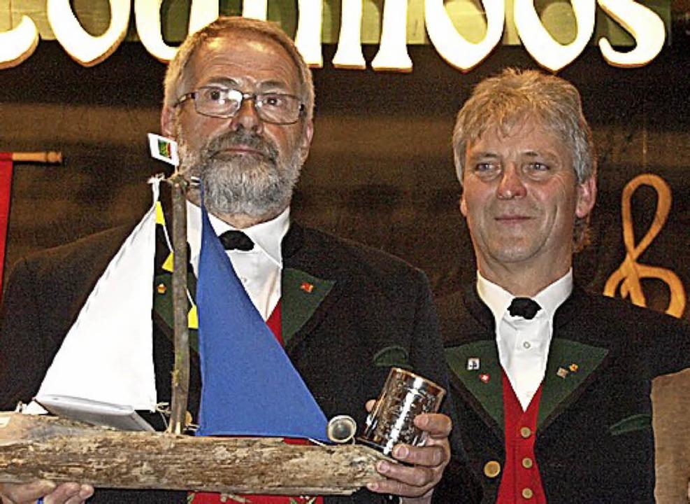750 Jahre Todtmoos und gleichzeitig 15...r 40 aktive Musikerjahre geehrt wurden    Foto: Karin Stöckl-Steinebrunner