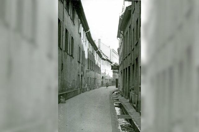 Einst eine stille und schmale Straße