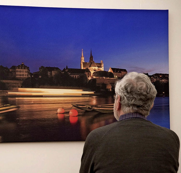 Atmosphärische Fotos präsentiert der F...Rainer Spaniel im Sulzburger Rathaus.   | Foto: Volker Münch