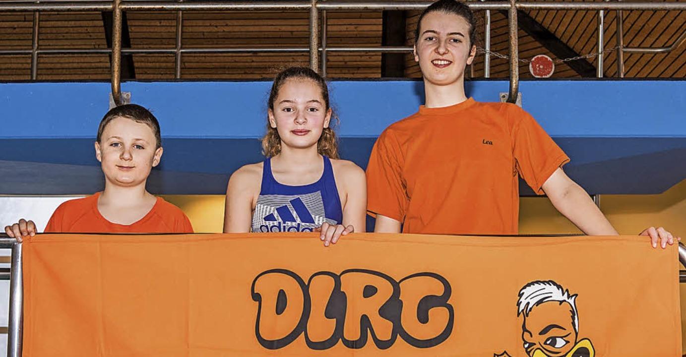 <BZ-FotoAnlauf>DLRG-Jugend Breisgau: <...lbermedaille gewann Lea Ehrensperger.   | Foto: alx