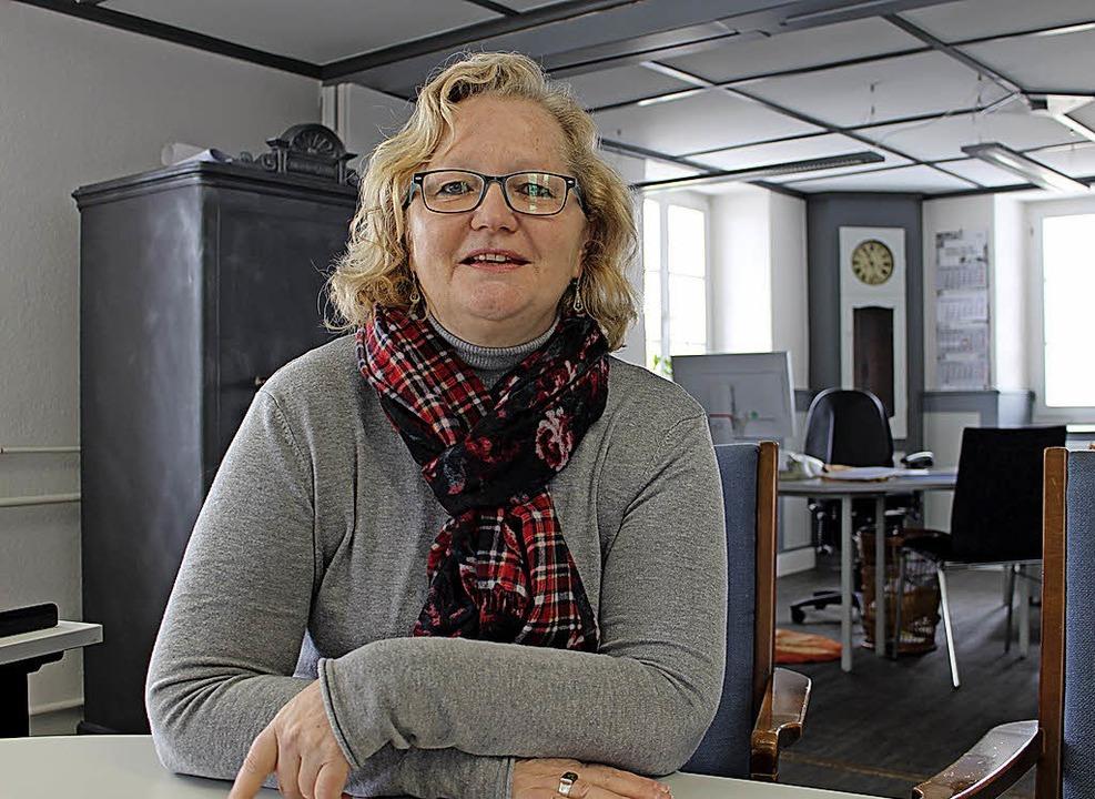 Monika Winterhalder (56) ist Ortsvorst... Schöffin am Landgericht in Konstanz.   | Foto: Simon