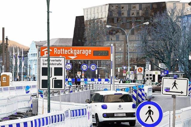 Parkchaos in der Freiburger Innenstadt am Karsamstag löste Atemnot aus