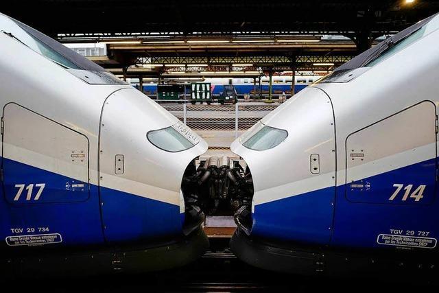 Eisenbahner legen mit Streik Frankreich lahm
