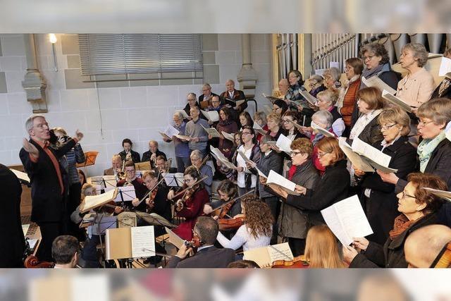 Mozarts Krönungsmesse aufgeführt