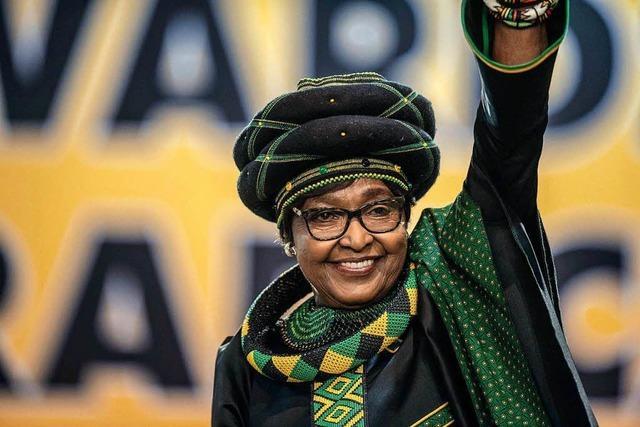 Wegen Skandale wurde sie nicht die First Lady – Winnie Mandela