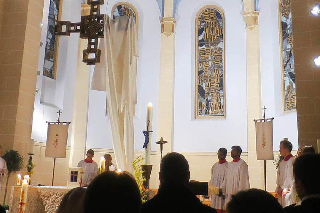 Ostern in der Kirche  | Foto: Porsche