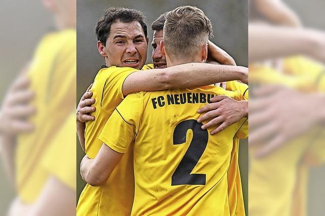 FC Neuenburg im Pokalfinale