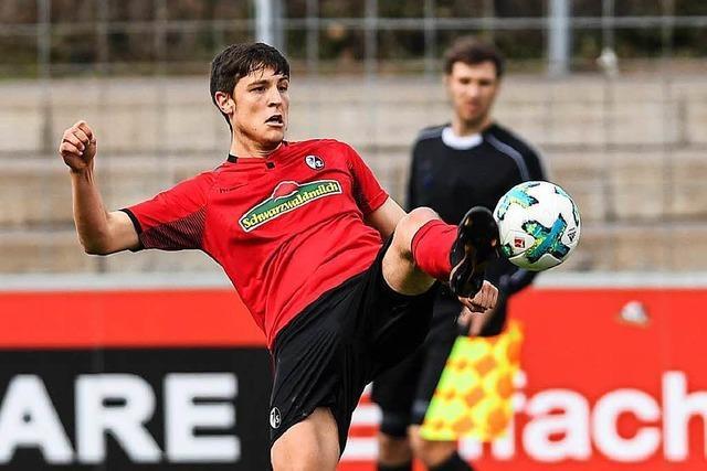 Die Zweite des SC Freiburg ist seit fast zwei Monaten ungeschlagen
