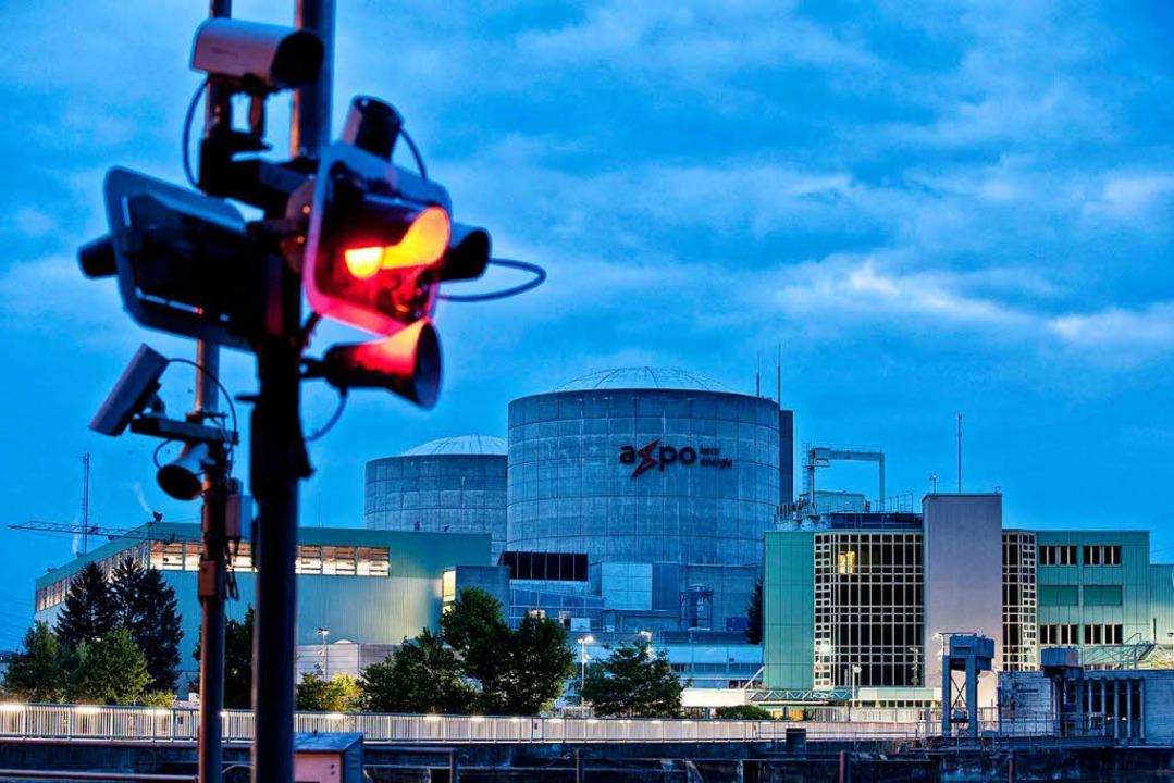 Das Atomkraftwerk in Beznau in der Schweiz  | Foto: DPA
