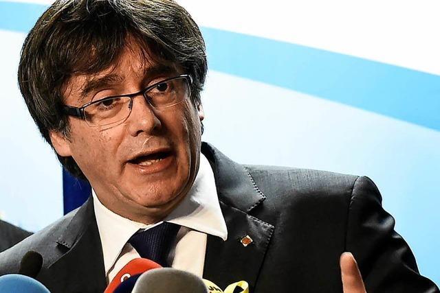 Staatsanwaltschaft will katalanischen Ex-Regionalpräsidenten Puigdemont ausliefern