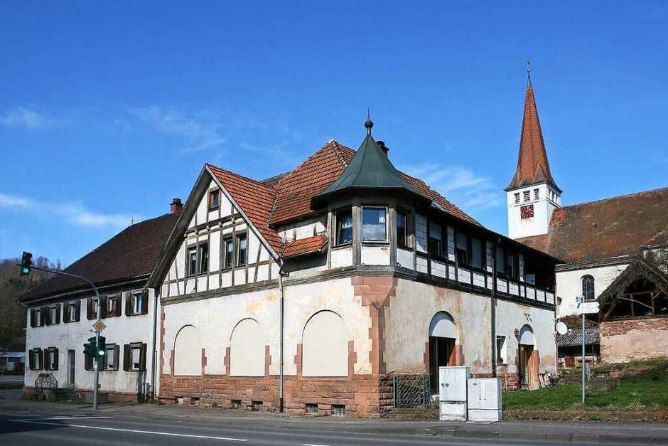 Eindrücke vom Gasthaus Lamm – das Gebäude weicht einer Wohnbebauung. (Foto: Christoph Breithaupt)