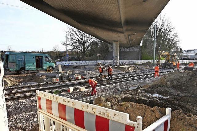 Bahnübergang bald wieder offen