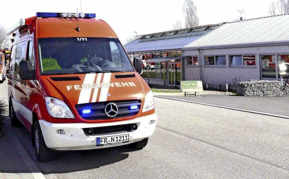 Als die Feuerwehr in Neuenburg am Glas...traf, war der Rauch bereits abgezogen.  | Foto: Ehmann