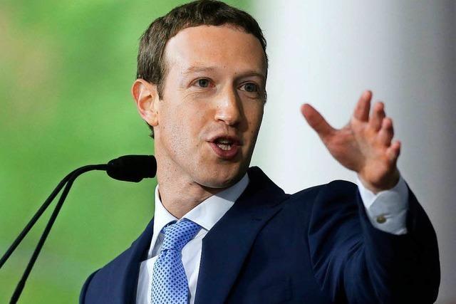 Zuckerberg: Einige Jahre für Lösung der Probleme von Facebook nötig