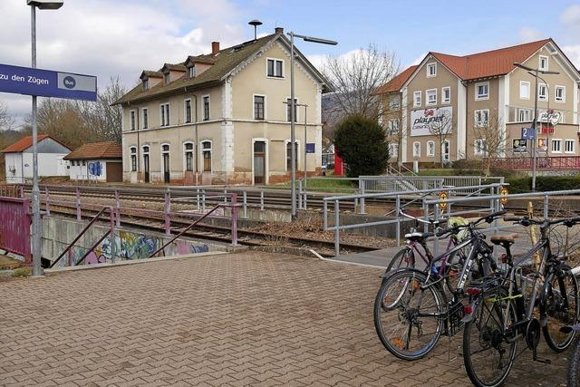 Am Bahnhof mehr Service für Radler