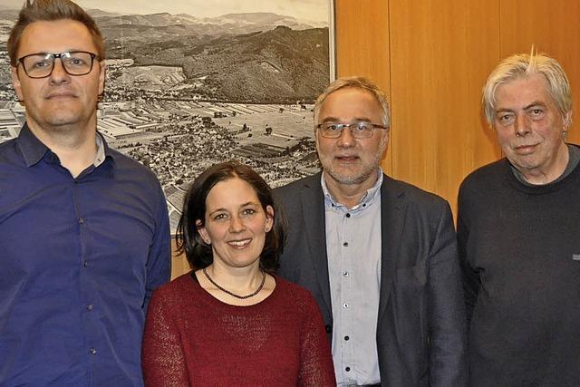 Der Wachwechsel beim Bürgerverein Grunern ist vollzogen
