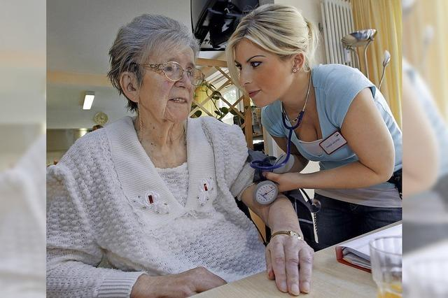 Pflegeausbildung immer attraktiver