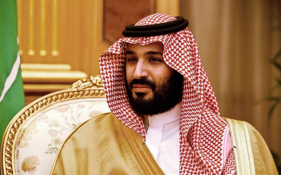 Kronprinz Mohammed bin Salman al-Saud gibt sich als Reformer.  | Foto: dpa
